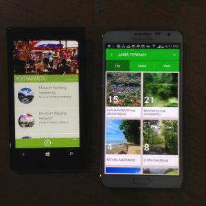 WisataLokal di Android & WP