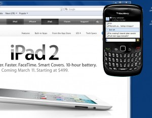 remote desktop to blackberry
